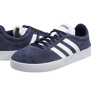 BRAND NEW NAVY BLUE ADIDAS  VL COURT 2.0 SNEAKERS